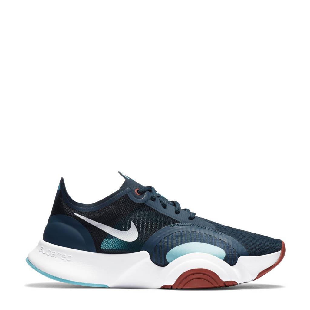 Nike SuperRep Go  sportschoenen blauw, Blauw