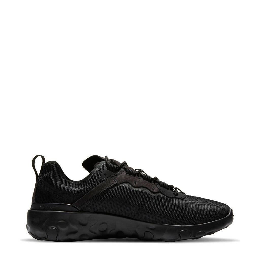 Nike RENew Element 55 (GS) sneakers zwart/antraciet, Zwart/antraciet
