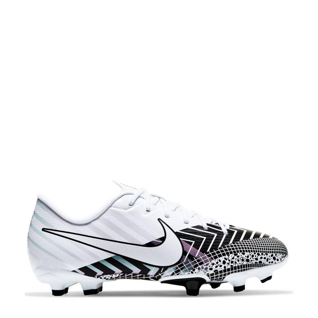 Nike Mercurial Vaport 13 Academy MDS FG/MG Jr. voetbalschoenen wit/zwart, Wit/zwart