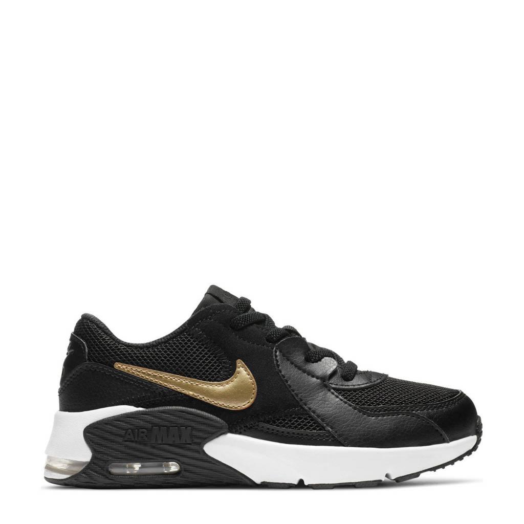 Nike Air Max Excee (PS) sneakers zwart/goud/wit, Zwart/goud/wit
