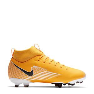 Jr Superfly 7 Academy FG/MG voetbalschoenen geel/wit