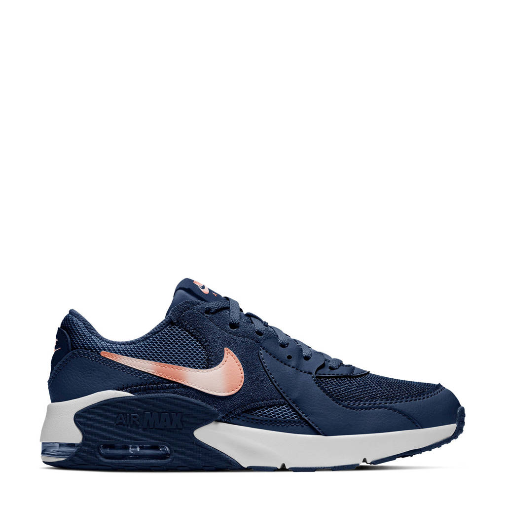 Nike Air Max Excee (GS) sneakers donkerblauw/brons