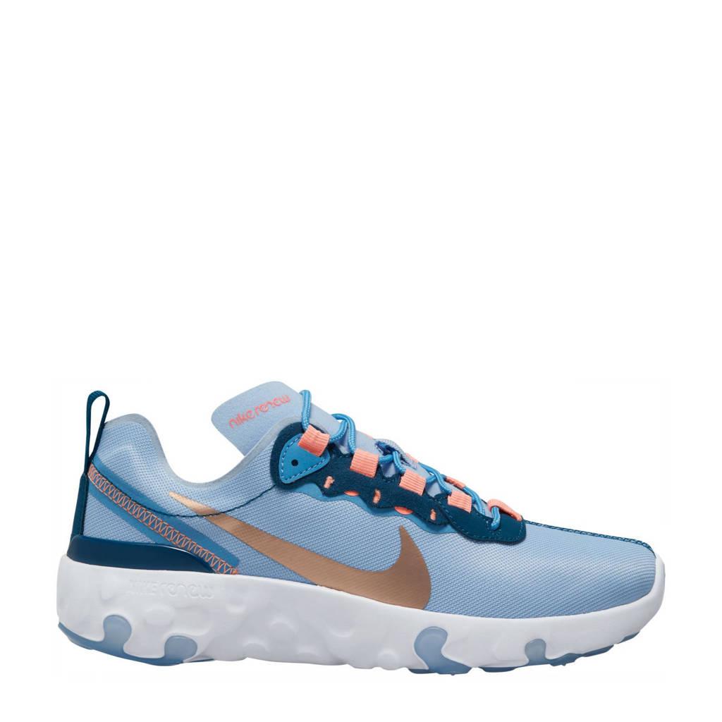 Nike RENew Element 55 (GS) sneakers lichtblauw/blauw/koper, Lichtblauw/blauw/koper