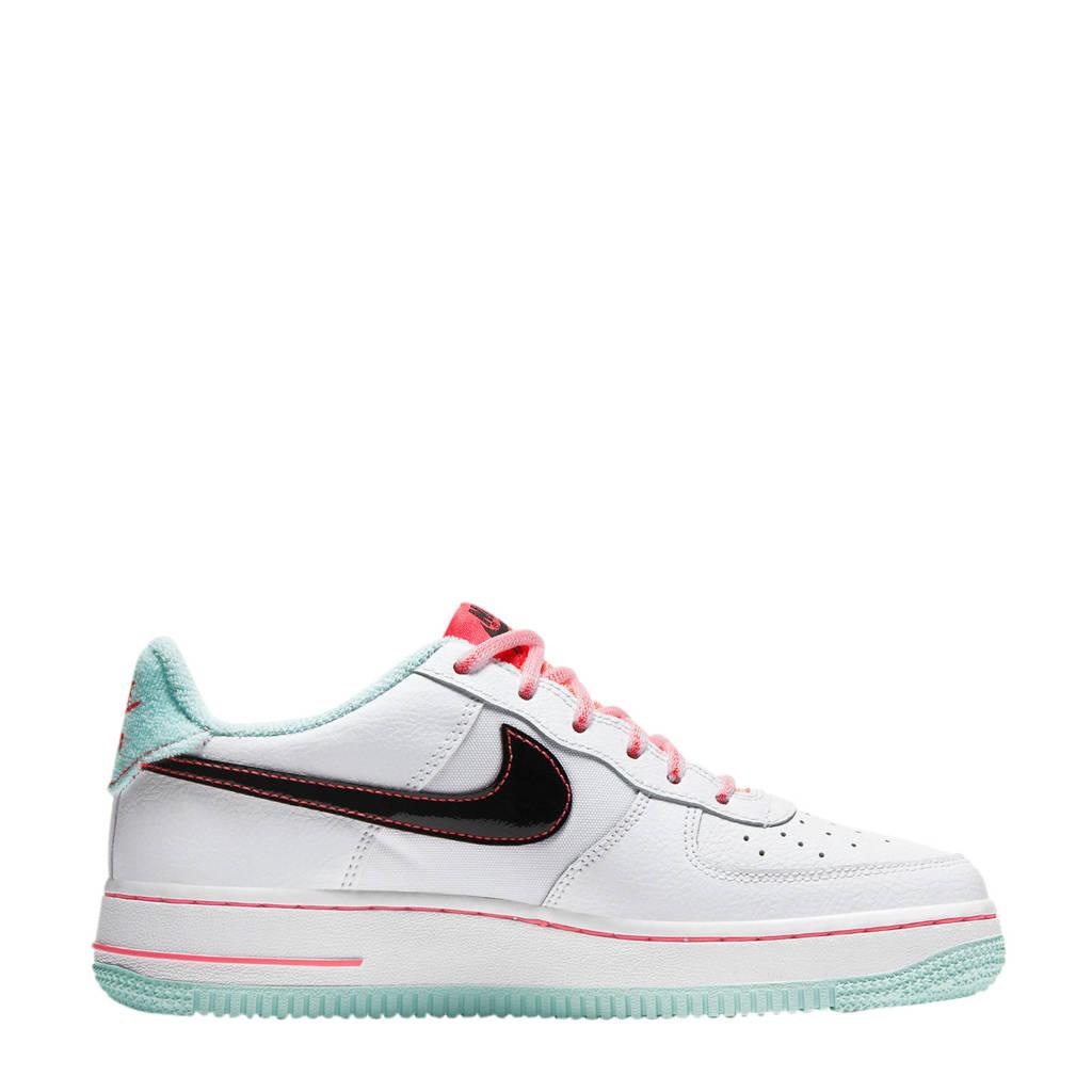 Nike Air Force 1'07  sneakers wit/multi, Wit/zwart/roze/rood/groen
