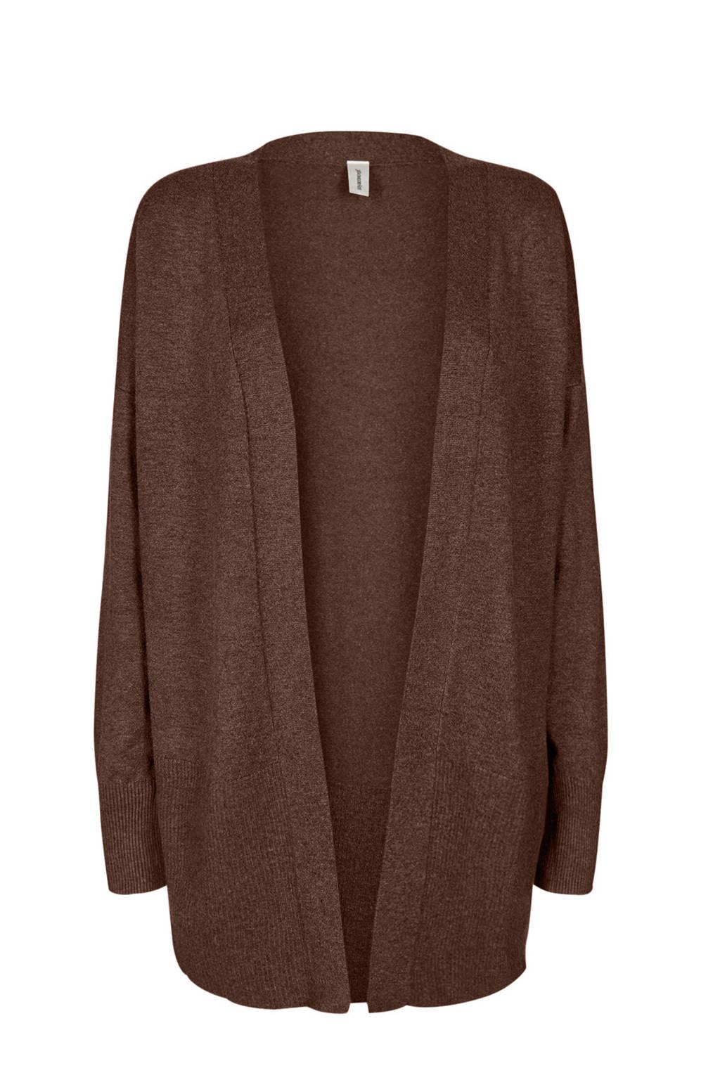 Soyaconcept vest bruin, Bruin