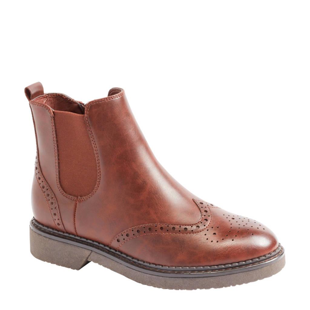 Graceland   chelsea boots bruin, Bruin