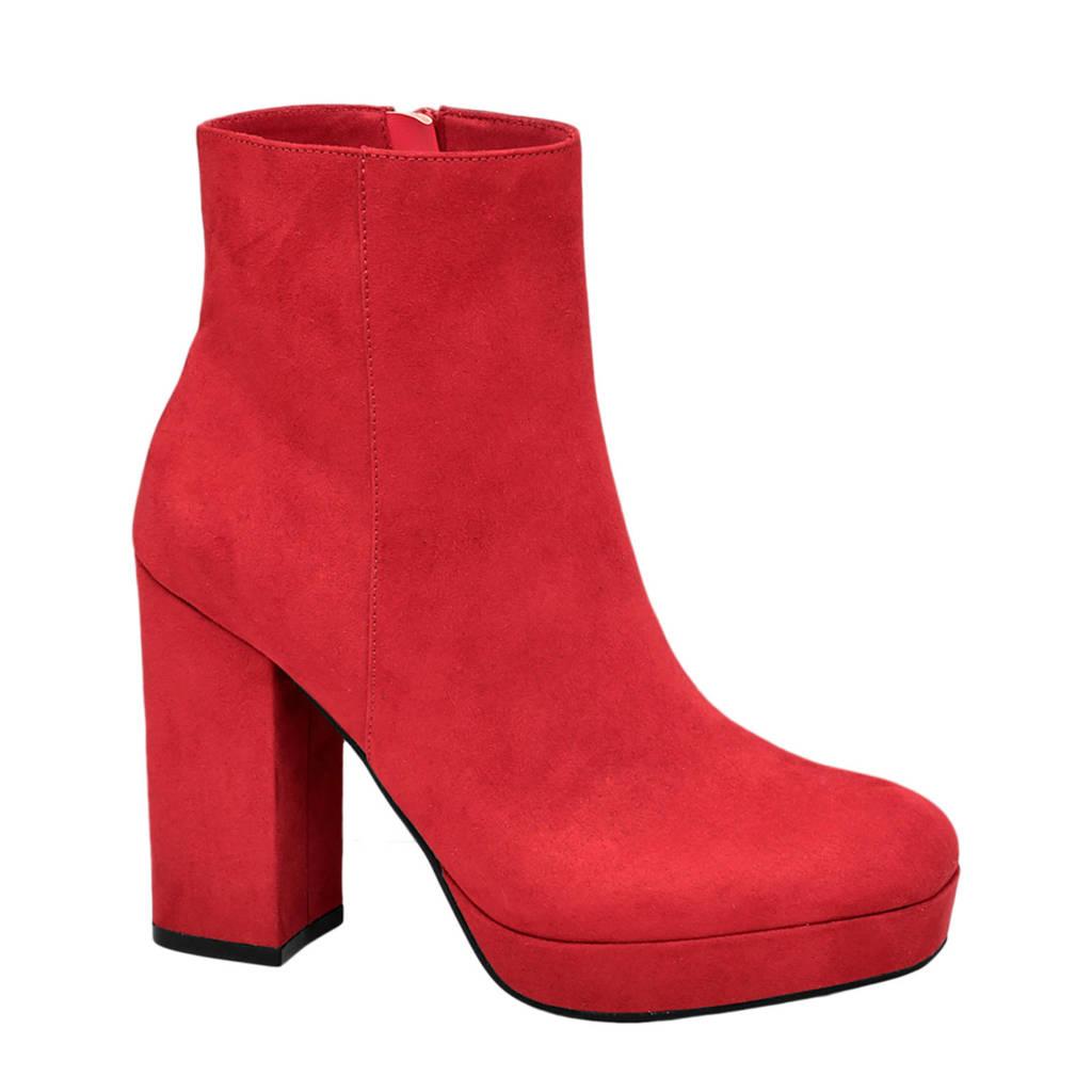 Oxmox   enkellaarzen rood, Rood
