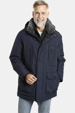 parka jas Plus Size Botulfr donkerblauw