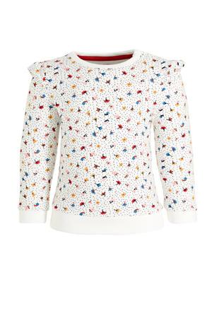 sweater met biologisch katoen ecru