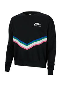 Nike sweater zwart/wit/roze, Zwart/wit/roze