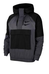 Nike Anorak donkergrijs/zwart