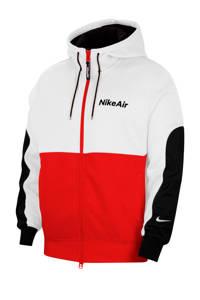 Nike Sweatvest rood/wit/zwart, Rood/wit/zwart