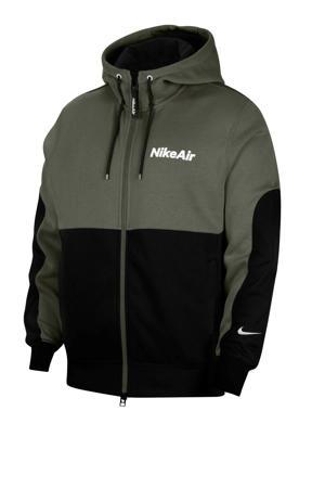 Vest Nike Air groen/zwart