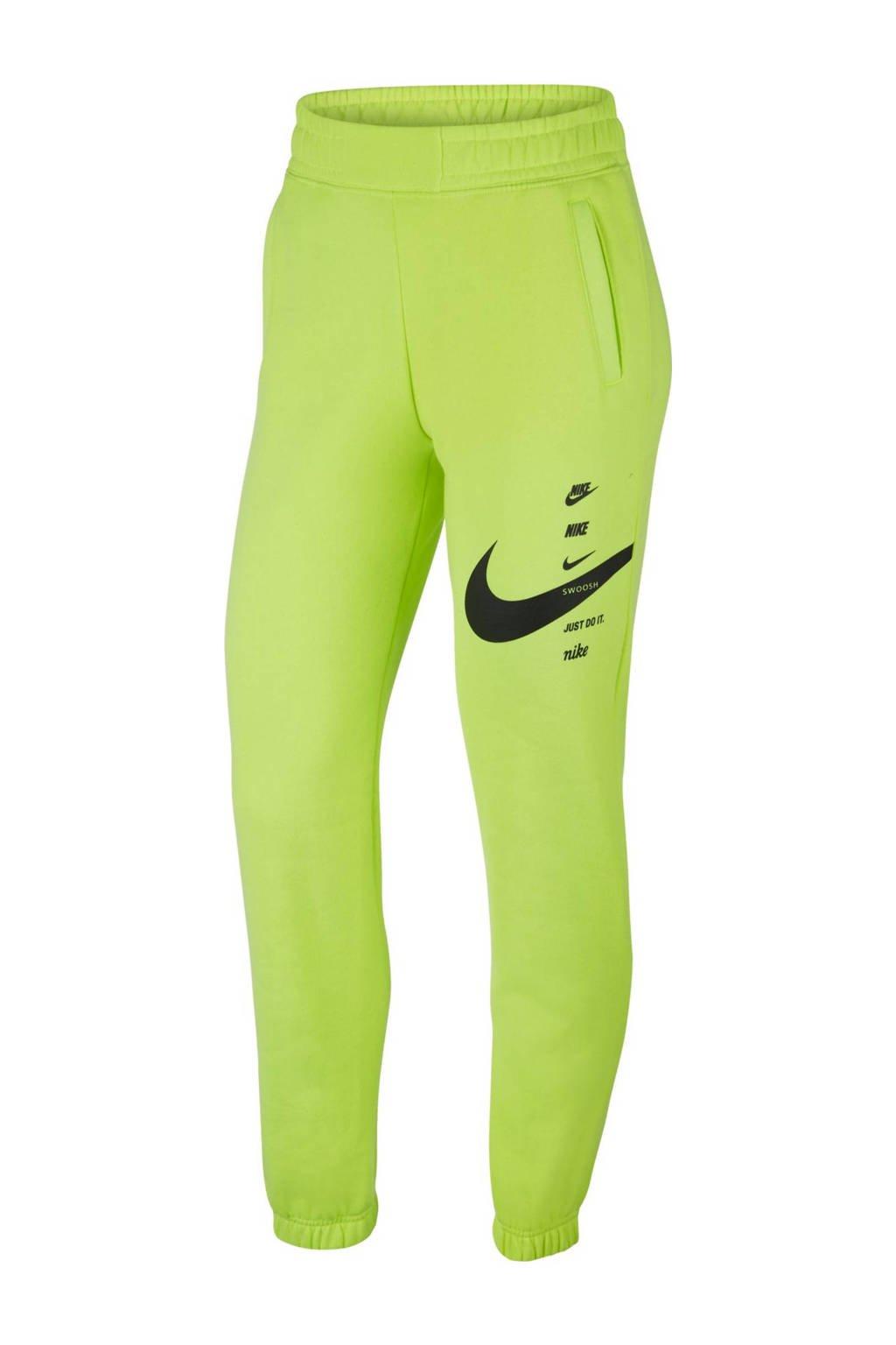Nike trainingsbroek limegroen, Limegroen