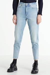 G-Star RAW Janeh cropped high waist mom jeans met biologisch katoen vintage glacial blue, Vintage glacial blue