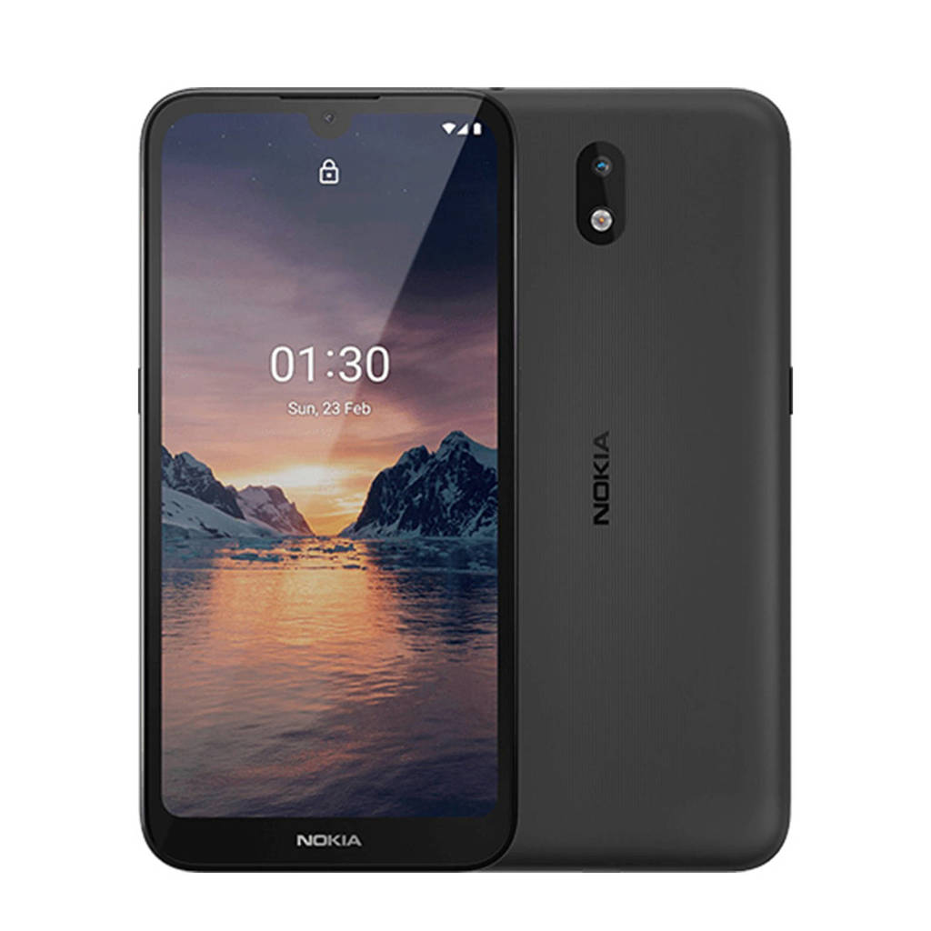 Nokia 1.3 + LYCASIM smartphone (grijs), Grijs