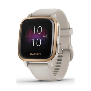 Venu Sq – Music Edition smartwatch (licht zand)