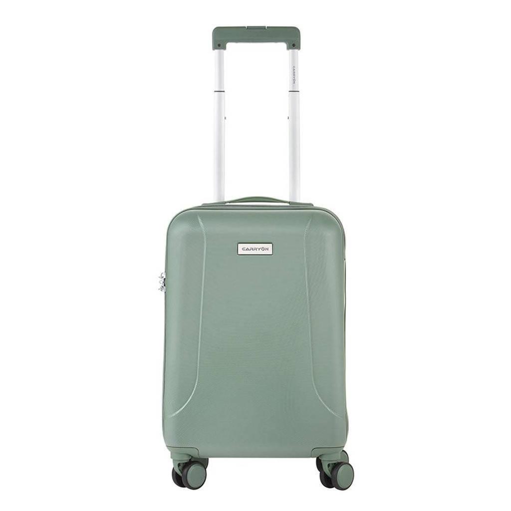 CarryOn  trolley Skyhopper 55 cm. olijfgroen, Groen