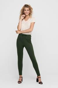 ONLY tapered fit broek ONLPOPTRASH groen, Groen