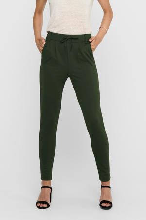 tapered fit broek Poptrash groen