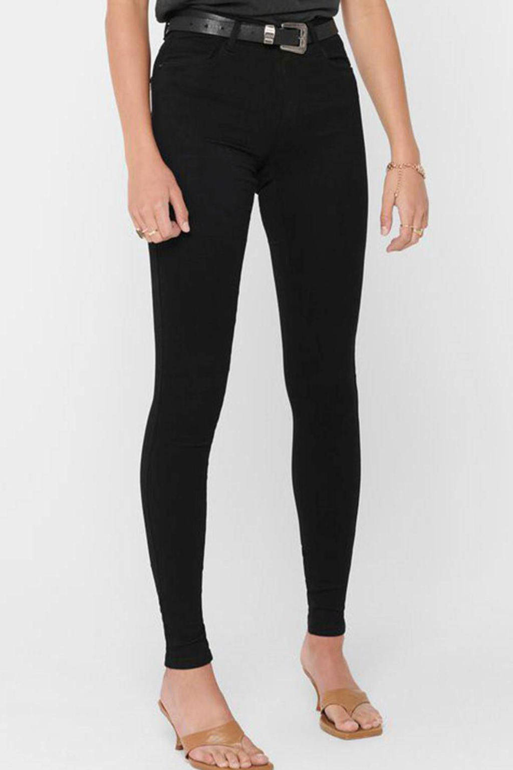 ONLY skinny jeans zwart, Zwart