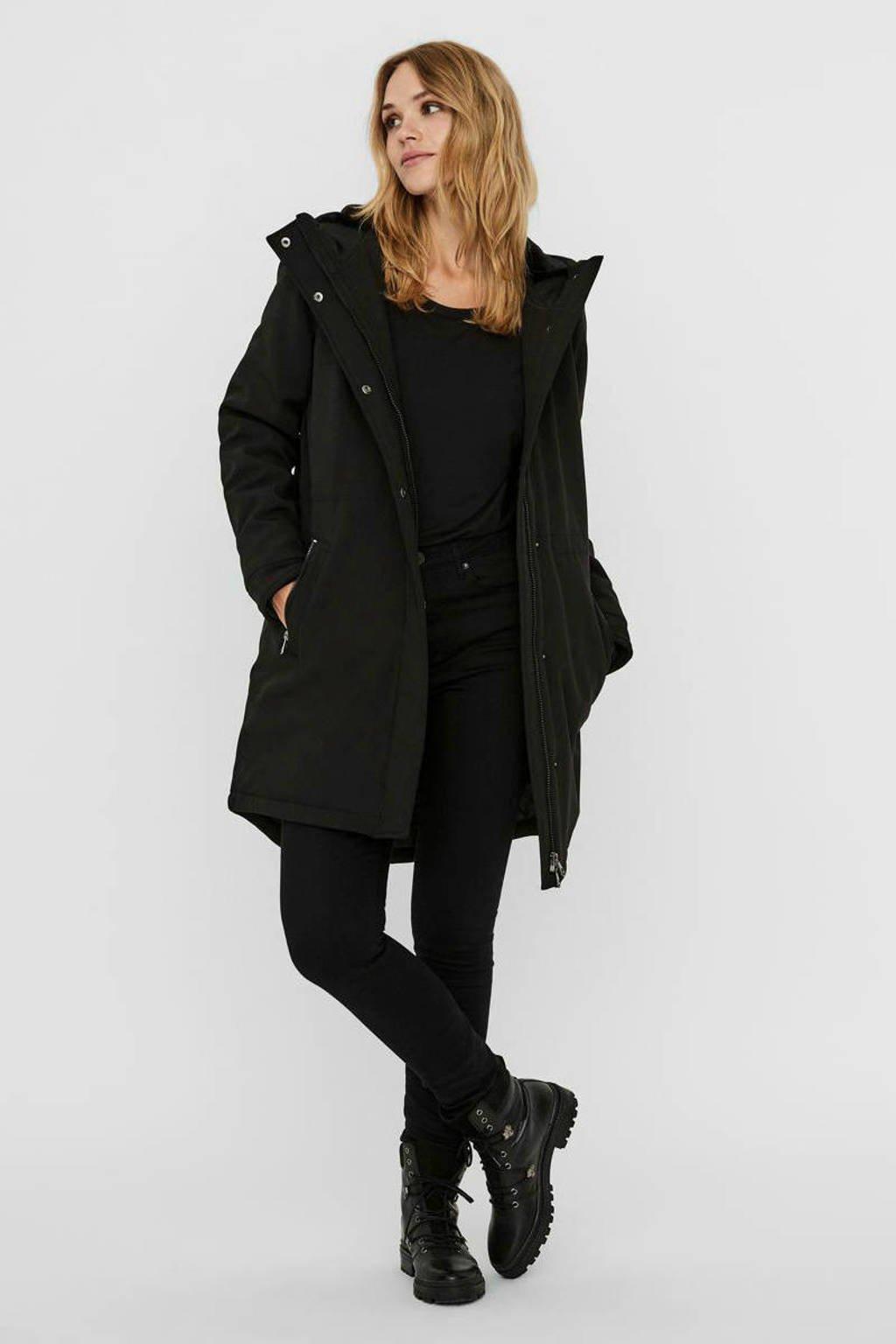 VERO MODA gewatteerde jas zwart, Zwart