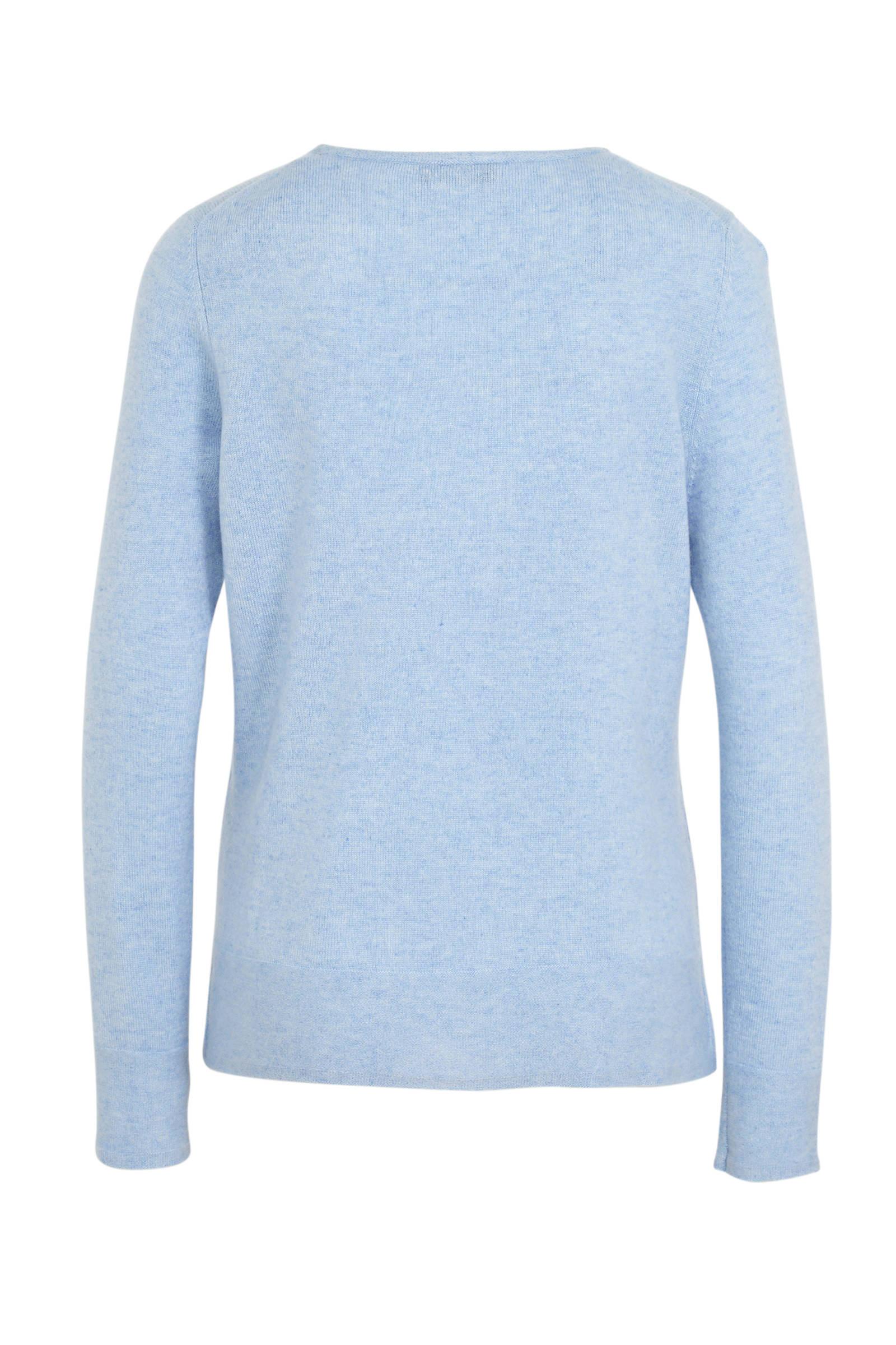 Kasjmier trui Lichtblauw DAMES | H&M NL