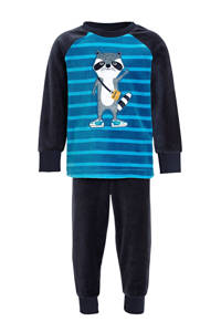 C&A Palomino   pyjama met printopdruk donkerblauw, Donkerblauw
