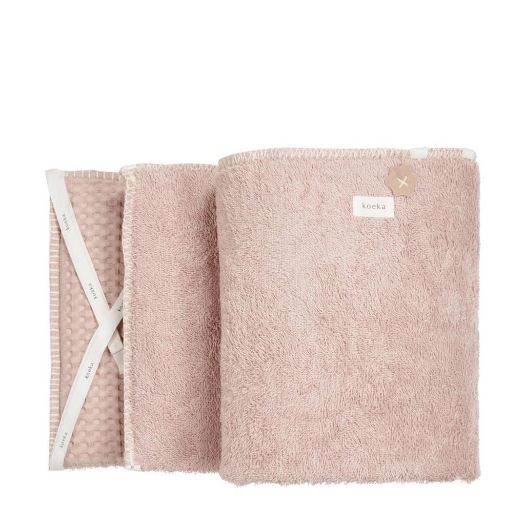 Koeka Amsterdam boxbumper grey pink, Oudroze