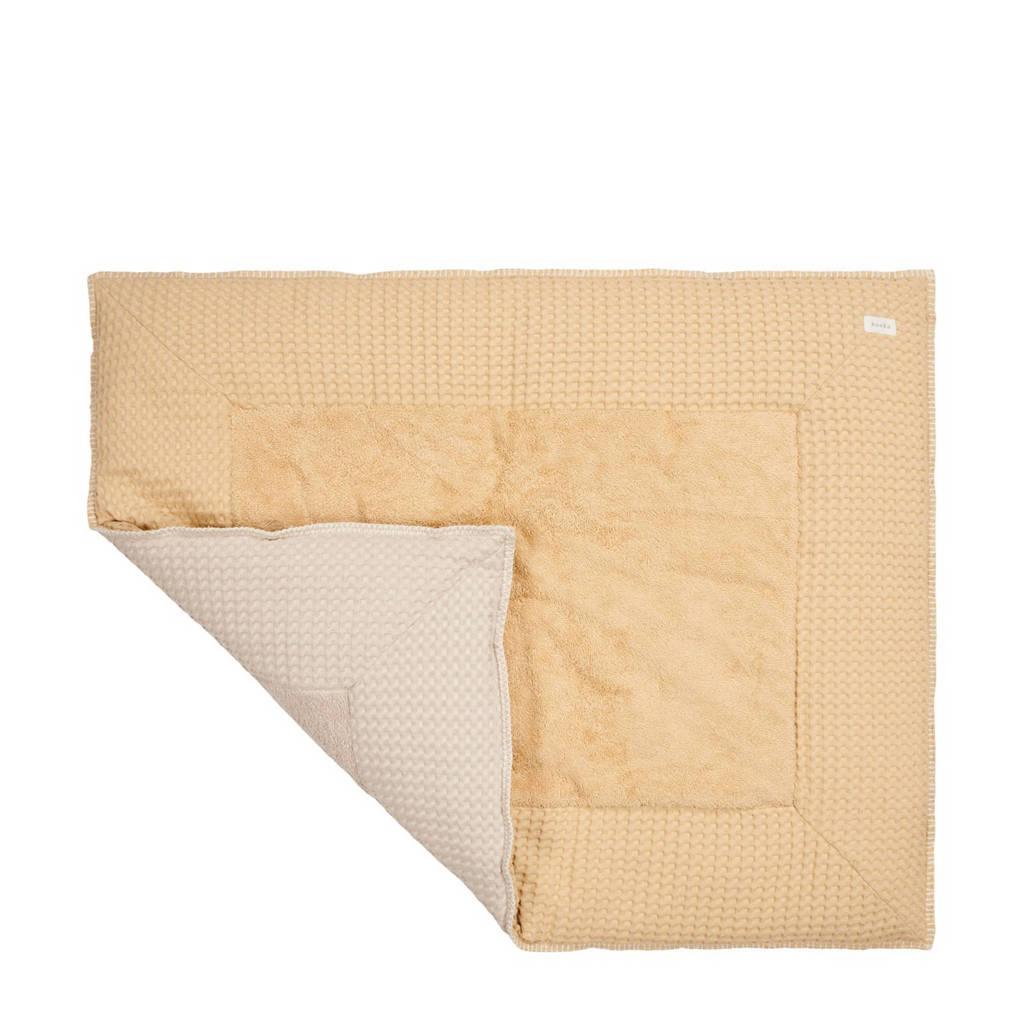 Koeka Amsterdam boxkleed 80 x 100 cm sahara/sand, Licht camel