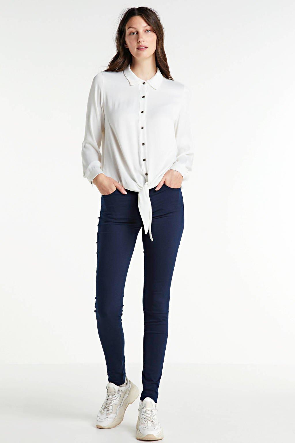 Transfer blouse wit, Wit