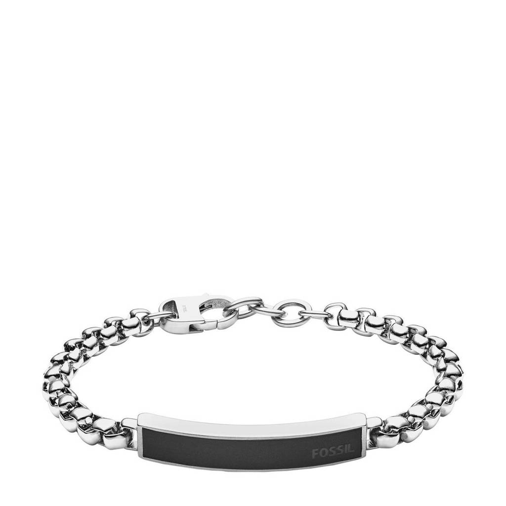 Fossil armband JF03439040 zilver, Zilver