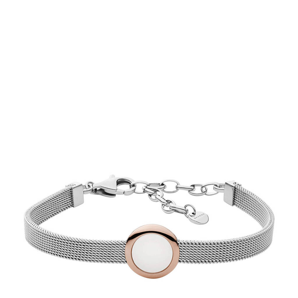 Skagen armband Sea Glass  SKJ1336998 zilverkleur, Zilver, Rosé