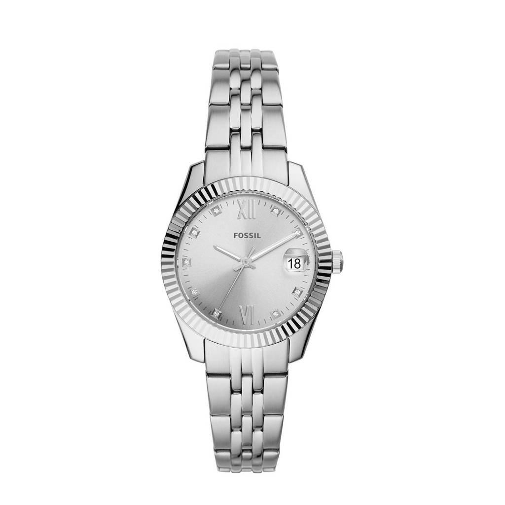 Fossil horloge Scarlette Mini ES4897 zilver, Zilver
