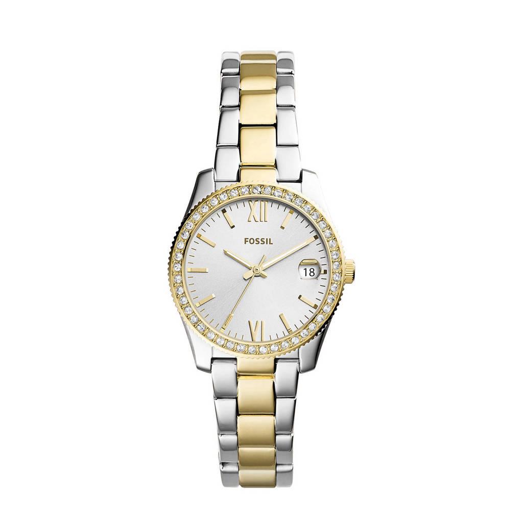 Fossil horloge Scarlette Mini ES4319 goud, Zilver