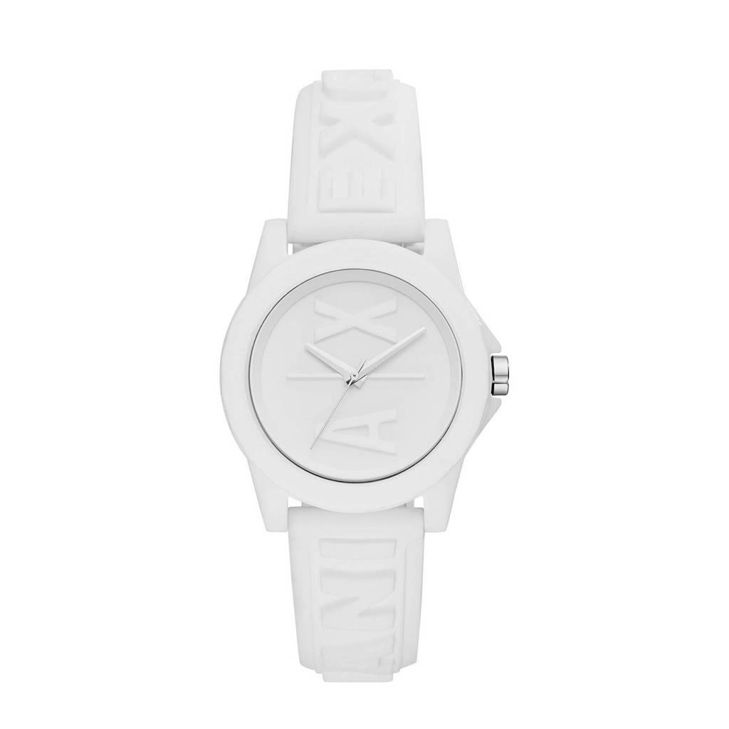 Armani Exchange horloge Lady Banks  AX4366 wit, Wit