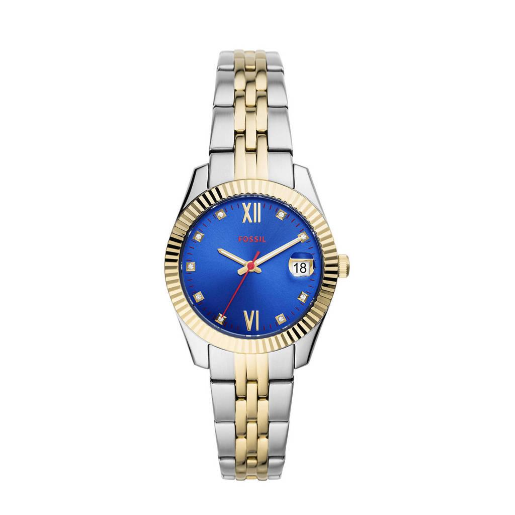 Fossil horloge  Scarlette Mini ES4899 goud, RVS