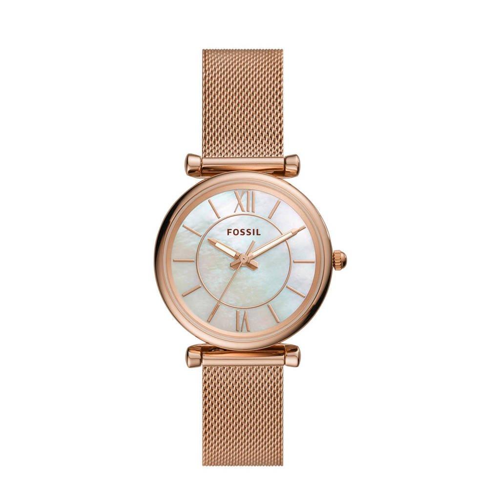 Fossil horloge Carlie  ES4918 rosé, Rosé