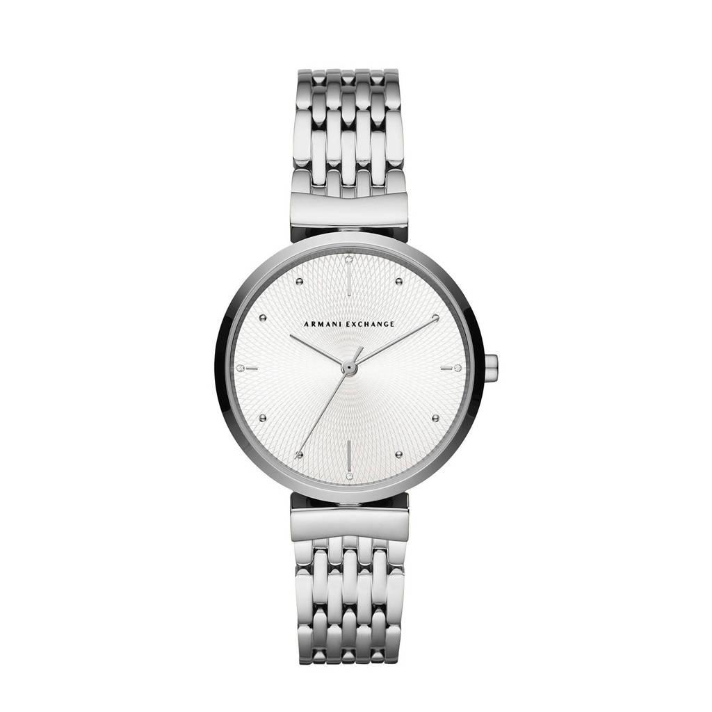 Armani Exchange horloge Zoe AX5900 zilver, Zilver
