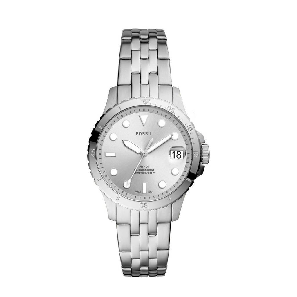 Fossil horloge  Fb - 01  ES4744 zilver, Zilver