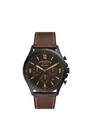 chronograaf Forester FS5608 bruin