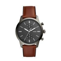 Fossil horloge Townsman FS5522 bruin, Bruin