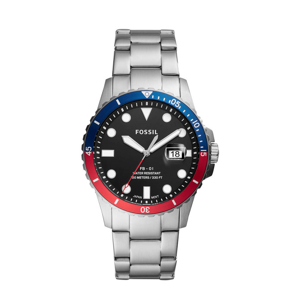 Fossil horloge Fb - 01  FS5657 zilver, Zilver