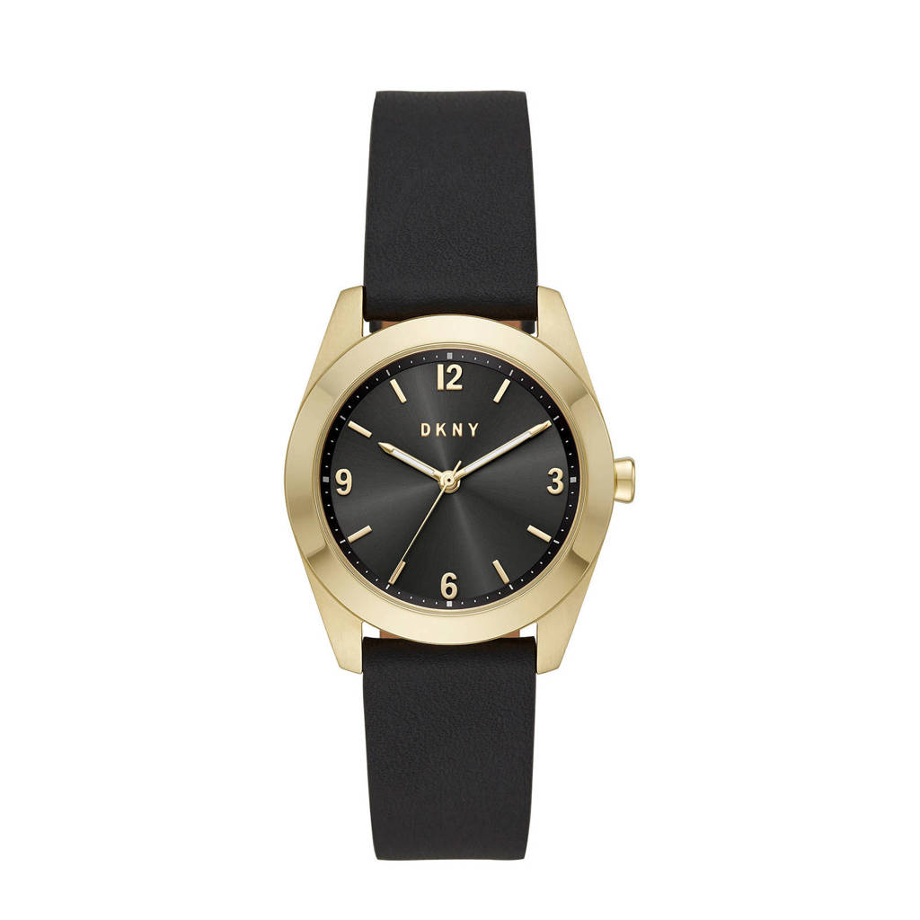 DKNY horloge Nolita NY2876 zwart, Zwart