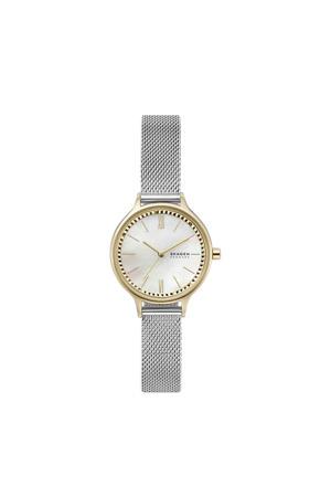 horloge  Anita SKW2866 zilverkleur/wit
