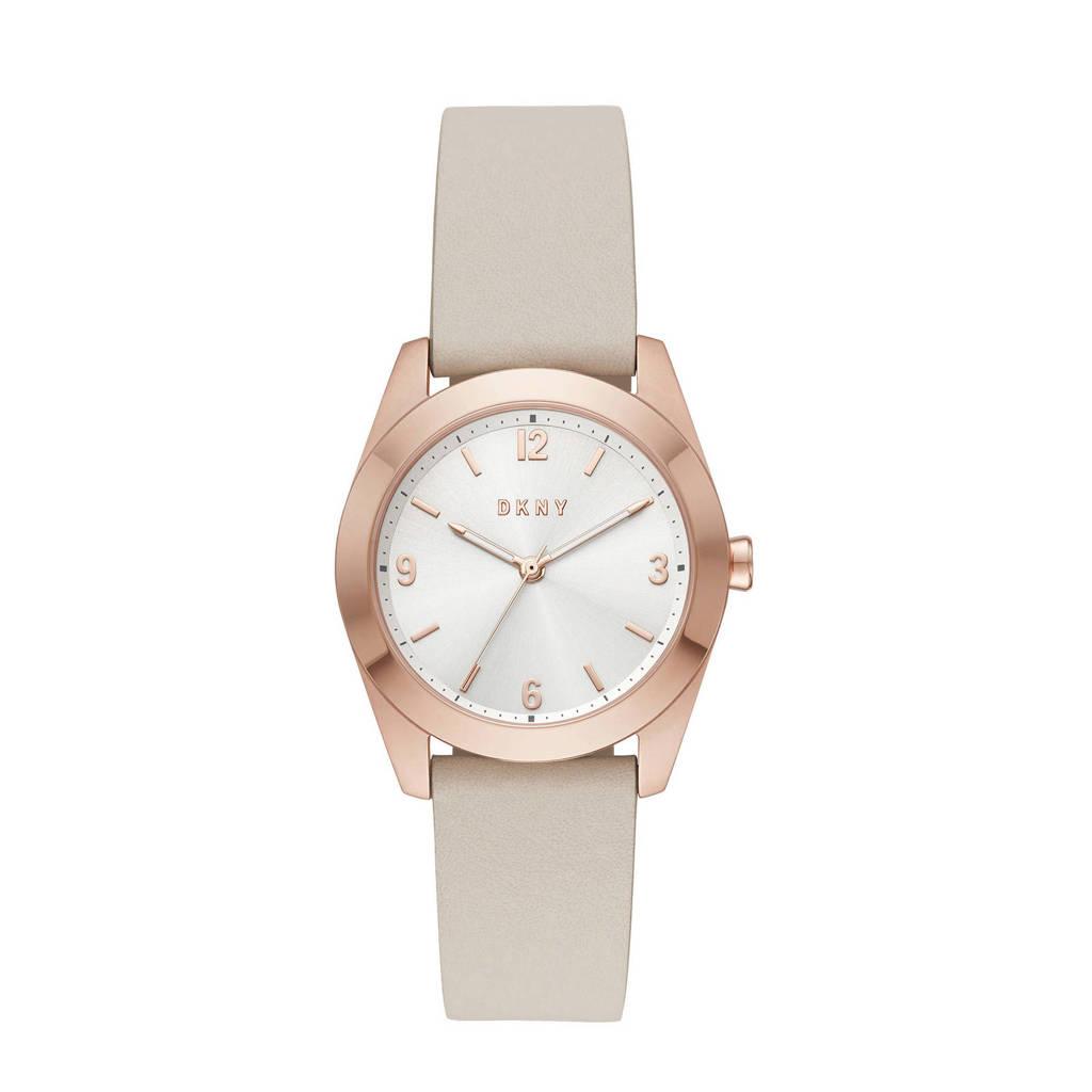 DKNY horloge Nolita NY2877 beige, Beige