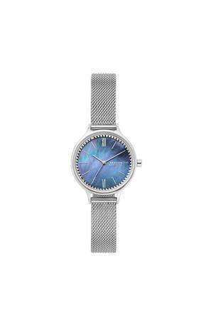 horloge Anita SKW2862 zilverkleur/blauw