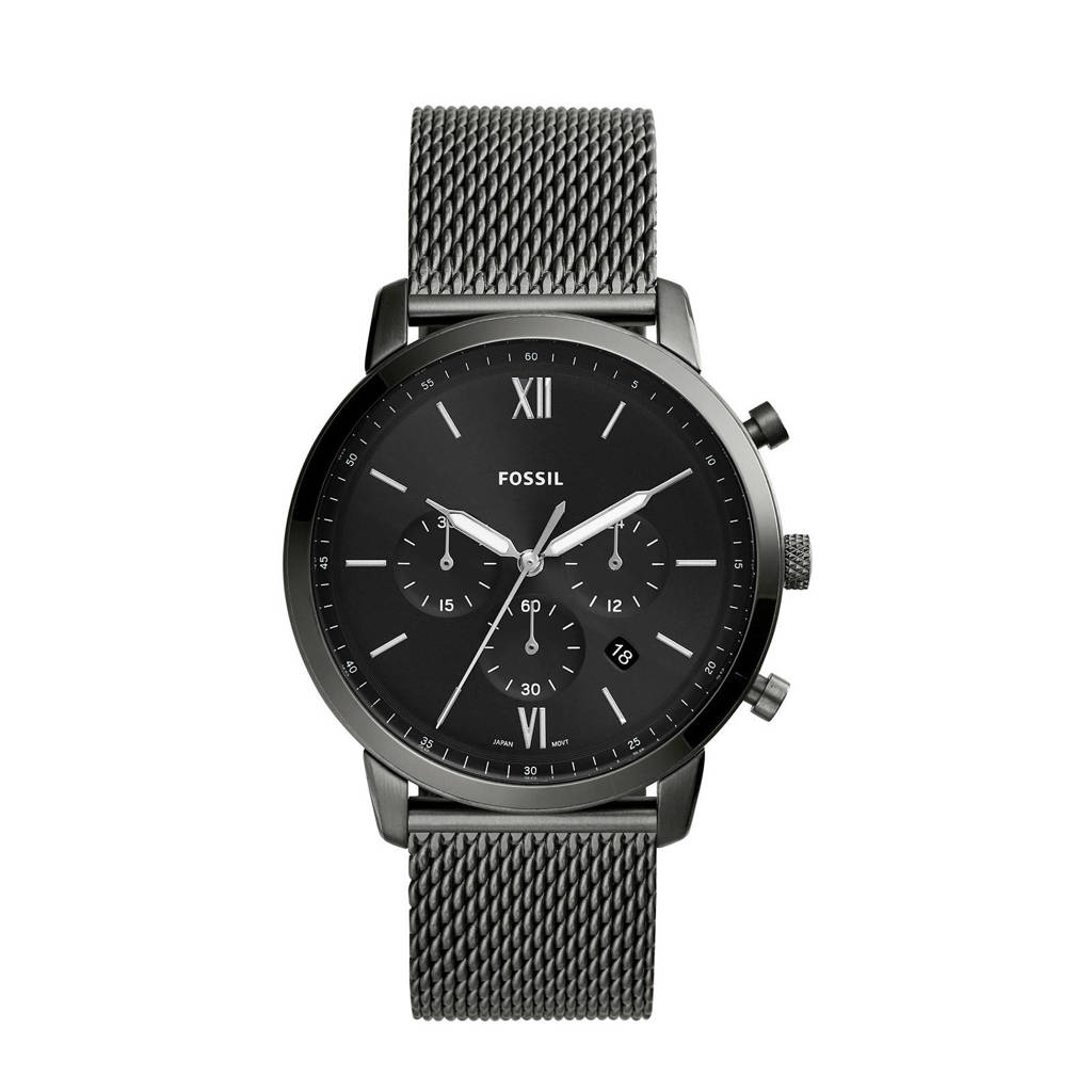 Fossil horloge Neutra Chrono FS5699, Zwart
