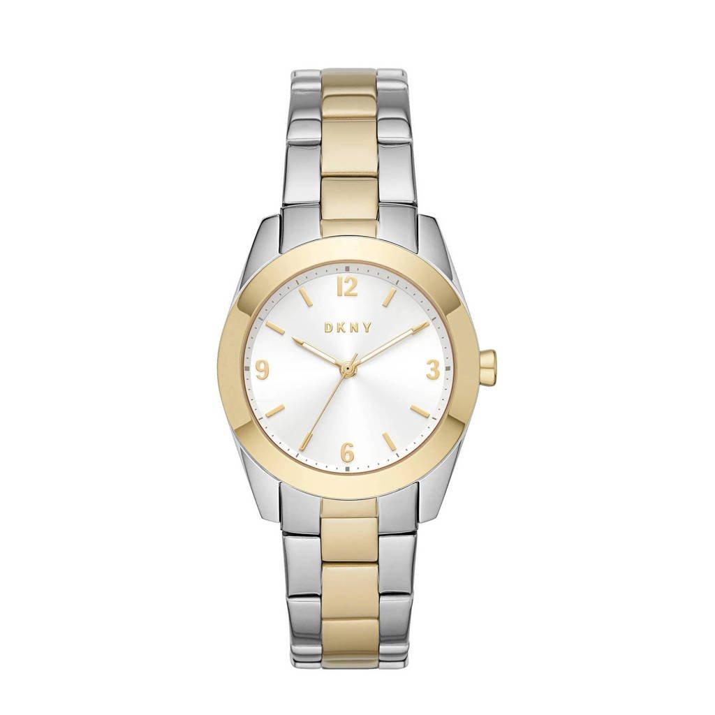 DKNY Nolita Dames Horloge NY2896, Zilverkleurig