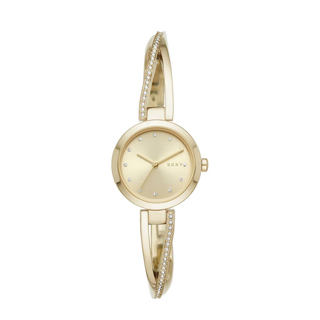 DKNY Crosswalk Dames Horloge NY2830, Goudkleurig